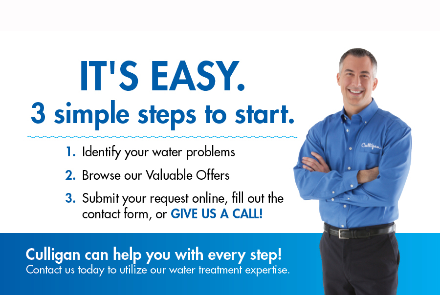 Steps to Contact Culligan Water